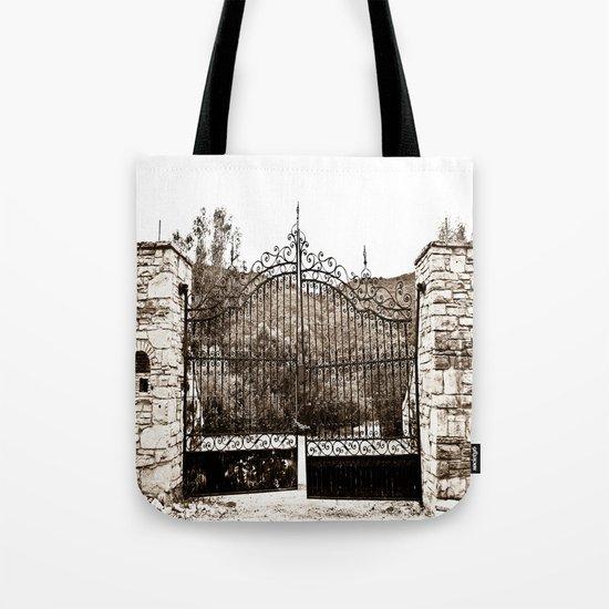 Old Gates Tote Bag