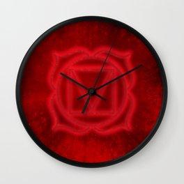 root chakra Wall Clock