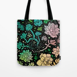 Succulent Supercluster Tote Bag