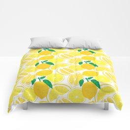 Lemon Harvest Comforters