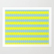 Van Zanen Yellow & Blue Art Print
