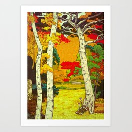 Home at Syin Art Print