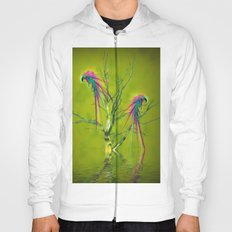 Fantasy Parrots Hoody