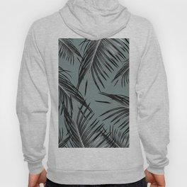 Black Palm Leaves Dream #4 #tropical #decor #art #society6 Hoody