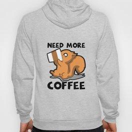 Need More Coffee Caffeine Junkie Gift Hoody