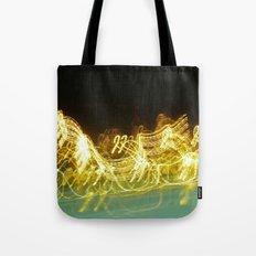 Galloping Neon Tote Bag
