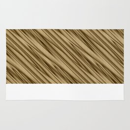 Abstract Gold Rug