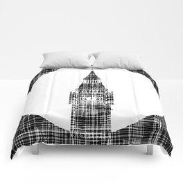 Big Ben Grunge Background Comforters