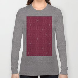 Hugs, Kisses, Love, and Pi - Pink  Long Sleeve T-shirt