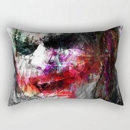Laugh Joker Rectangular Pillow