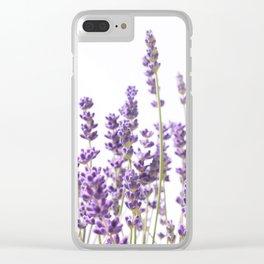 Purple Lavender #1 #decor #art #society6 Clear iPhone Case