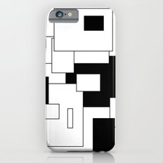 Squares - black and white. iPhone 6s Slim Case