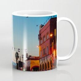 Venice Beach California Sunrise Coffee Mug