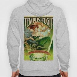 Vintage poster - Tempus Fugit Absinthe Hoody