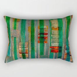 Reeds Rectangular Pillow
