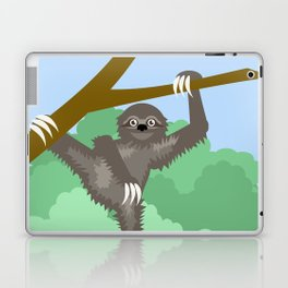 Hang in There Sloth Laptop & iPad Skin