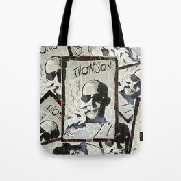 Dr. Hunter S. Thompson Tote Bag