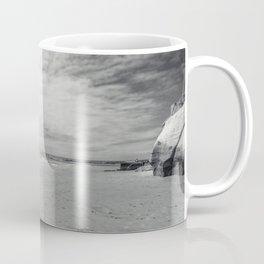 surfer on solana beach, san diego, california Coffee Mug