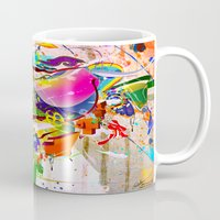 archan nair Mugs featuring Inner Dawn by Archan Nair