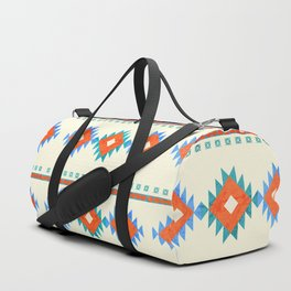 geometry navajo pattern no3 Duffle Bag