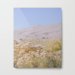 miles to go, nowhere to be. Metal Print