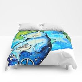 Earth Cat Comforters
