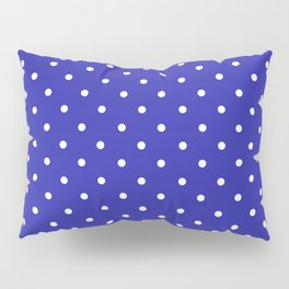 Dotted (White & Navy Pattern) Pillow Sham