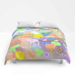 Colorful Place Comforters