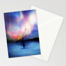 Aurora Boreal Stationery Cards