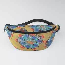 Red Sundial Fanny Pack