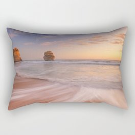 II - Twelve Apostles on the Great Ocean Road, Australia at sunset Rectangular Pillow