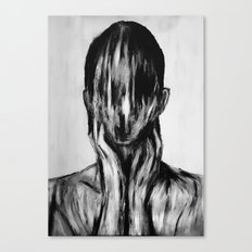 Surreal Distorted Portrait 03 Canvas Print