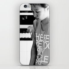 there are too many people here. iPhone & iPod Skin
