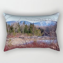 The Way to the Mountain Rectangular Pillow