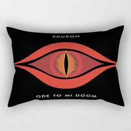 Ode To Mt. Doom Rectangular Pillow