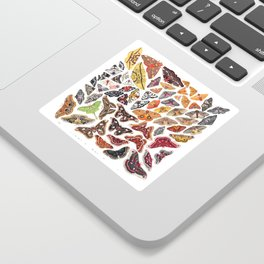 Saturniid Moths of North America Sticker