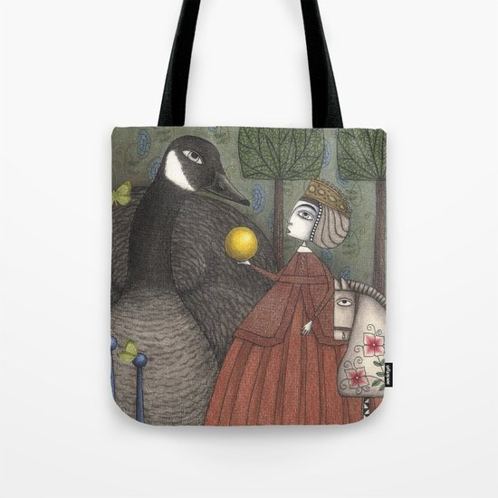 There Once was a Goose Tote Bag