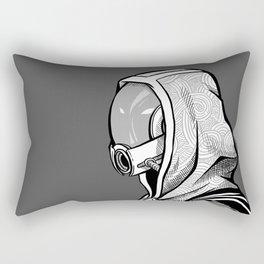 Tali - B&W profile Rectangular Pillow