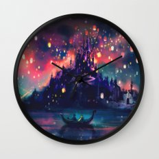 The Lights Wall Clock