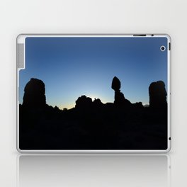 Balance Rock Silhouette  Laptop & iPad Skin