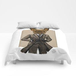 Much Handsome, Dapper Doge Comforters