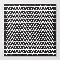 B&W pattern Canvas Print
