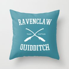 Hogwarts Quidditch Team: Ravenclaw Throw Pillow