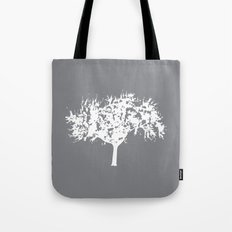 Reverse Tree Tote Bag