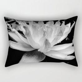 Hopeful Water Lilly III Rectangular Pillow
