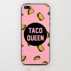 Taco Queen - pink iPhone & iPod Skin