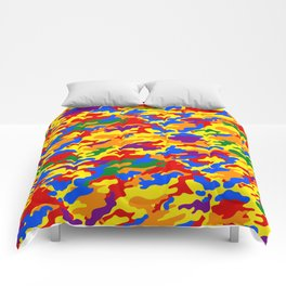 Homouflage Gay Stealth Camouflage Comforters