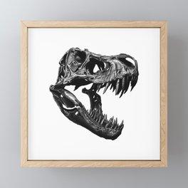 T Rex Framed Mini Art Print