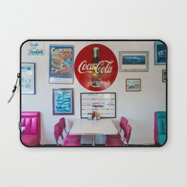 Diner Route 66 Laptop Sleeve