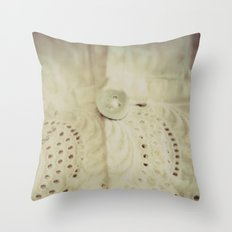 Lace ~ Embroidery  - JUSTART © Throw Pillow